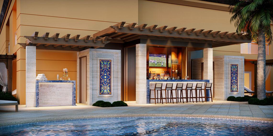 Tranquility Pool Bar